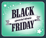Black friday sale design. Stock Photo