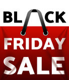 Black friday sale. Design template black friday banner, poster vector illustration Royalty Free Stock Image