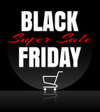 Black Friday sale design template Royalty Free Stock Images