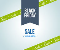 Black friday sale design template elements for sales promotion. Stock Photo
