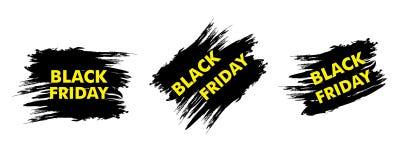 Black Friday sale design. Vector Stock Photography