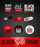 Black Friday Sale Discount Banner Stock Images
