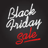 Black friday sale. Discount text vector illustration. Clothes, food, electronics, cars sale Stock Images