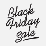 Black friday sale. Discount text vector illustration. Clothes, food, electronics, cars sale Stock Photography