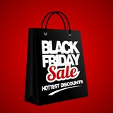 Black Friday Sale, discount and voucher template Stock Photos