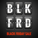 Black friday sale. EPS 10 Royalty Free Stock Photo