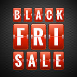 Black friday sale. EPS 10 Royalty Free Stock Photos