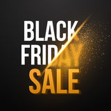 Black Friday Sale Exlosion Poster. Huge November 25th Sale Stock Photos