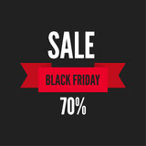 Black Friday sale. Royalty Free Stock Image