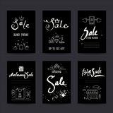 Black Friday Sale Flyer, Promotion Banner Tempalte royalty free illustration