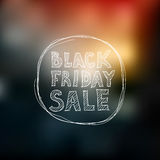 Black Friday sale. freehand drawing Stock Photos