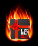 Black Friday Sale gifbox Stock Photos