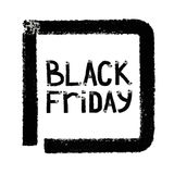 Black friday. Sale. Grunge background. Royalty Free Stock Photos