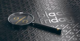 Black Friday Sale händelsebakgrund som finner bästa avtal arkivbilder