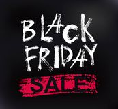 Black Friday Sale handmade lettering Royalty Free Stock Images