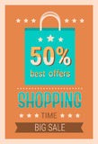 Black Friday Sale Holiday Shopping Banner Copy Space Stock Images