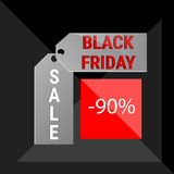 Black Friday Sale Holiday Shopping Banner Copy Space Royalty Free Stock Photos