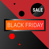 Black Friday Sale Holiday Shopping Banner Copy Space Stock Photos