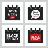 Black friday sale icon Stock Images