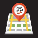 Black friday sale icon Royalty Free Stock Images