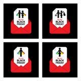 Black friday sale icon Stock Image