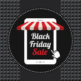 Black friday sale icon Stock Photography