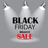 Black Friday Sale Icon Vector Illustration Royalty Free Stock Photos