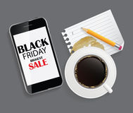 Black Friday Sale Icon Vector Illustration Royalty Free Stock Photography
