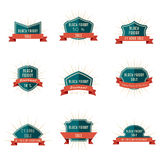 Black Friday Sale Icons Royalty Free Stock Photos