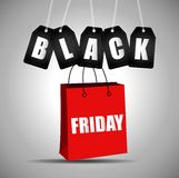 Black friday sale. Illustration of Black friday sale Stock Photography