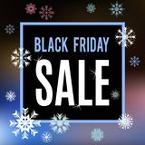 Black Friday sale inscription banner Royalty Free Stock Photos