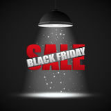Black Friday Sale inscription design template Royalty Free Stock Image