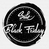 Black Friday Sale insignia  and labels for any use Stock Photography