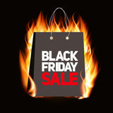 Black Friday Sale Label  Stock Photos