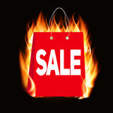 Black Friday Sale Label Vector Illustration Stock Image
