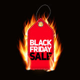 Black Friday Sale Label Vector Illustration Stock Photo