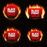 Black Friday Sale Label Vector Illustration Royalty Free Stock Photos
