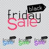 Black friday sale logo Stock Images