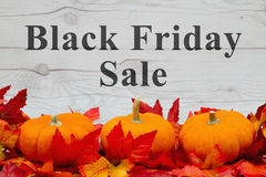 Black Friday sale message Royalty Free Stock Images