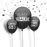 Black Friday Sale Poster, Banner or Flyer. Stock Images