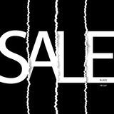 Black friday sale poster. Black friday sale banner. Royalty Free Stock Photo
