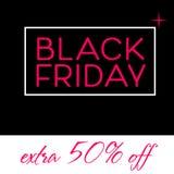 Black Friday Sale Poster design Stock Images