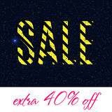 Black Friday Sale Poster design Royalty Free Stock Images