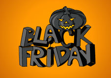 Black Friday sale poster Royalty Free Stock Photo