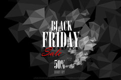 Black Friday Sale and Promotion offer banner Stock Photo