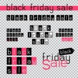 Black friday sale Royalty Free Stock Image