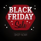 Black Friday Sale - shoppa nu Arkivbilder