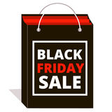 Black friday sale. Shopping Stock Photography