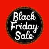 Black Friday Sale sticker Stock Photo