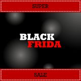 Black Friday sale inscription design template. Black Friday banner. Vector illustration royalty free illustration